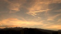 Lever du soleil - un matin de novembre