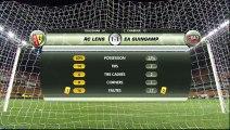 RC Lens (RCL) - EA Guingamp (EAG) Le résumé du match (18ème journée) - saison 2012/2013