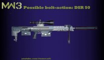 MW3 Guns - Possible BOLT-ACTION SNIPERS - DSR 50 (MW3 Weapons/ MW3 Snipers)