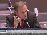 Travaux en commission : Table ronde sur la transition écologique organisée par la Commission du développement durable