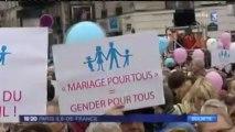 17/11/12, 19/20 Paris Ile de France, Manifestation à Paris - La Manif Pour Tous