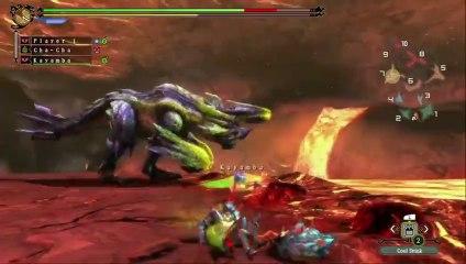 Monster Hunter 3 Ultimate Wii U -Brachydios gamepl de Monster Hunter 3 Ultimate