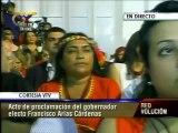 """Proclaman a Arias Cárdenas como nuevo gobernador del Zulia: """"Estoy aquí por Hugo Chávez"""""""