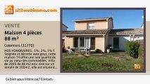 A vendre - maison - Colomiers (31770) - 4 pièces - 88m²