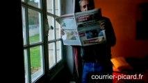 De Caunes, le Courrier picard et les nouvelles du monde