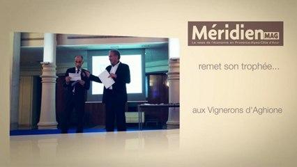 Méridien Mag remet un Trophée Vinoboss Marseille 2012