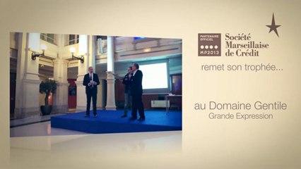 Société Marseillaise de Crédit remet un Trophée Vinoboss Marseille 2012