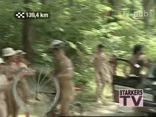Naked Tour de France: horrible sight