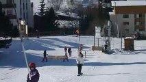 Lola et Assia flocon au 2 alpes  noêl 2011