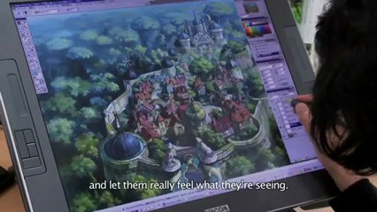 The Art of Studio Ghibli de Ni no Kuni : La Vengeance de la Sorcière Céleste
