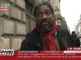 Les sans papiers grévistes de la faim reçus à la préfecture (Lille)
