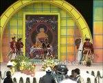 Dancers from Arunachal Pradesh in traditional costumes, performing Folk dance