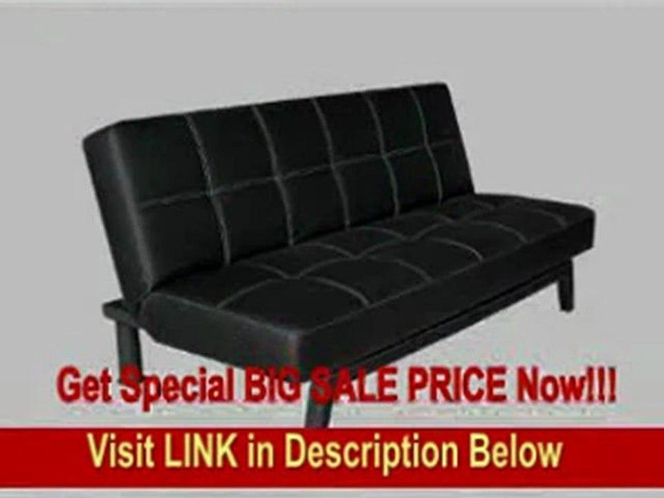 Marvelous Dorel Home Products Delaney Sofa Sleeper Black Inzonedesignstudio Interior Chair Design Inzonedesignstudiocom