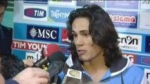 Coupe d'Italie - Cavani: ''Un moment très difficile''