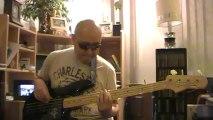 Opwekking 587 U geeft een nieuw lied(ik was verloren) Gospel funk basscover Bob Roha
