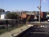 Norfolk Southern intermodal train through Austell Ga. into Whitaker Yard.