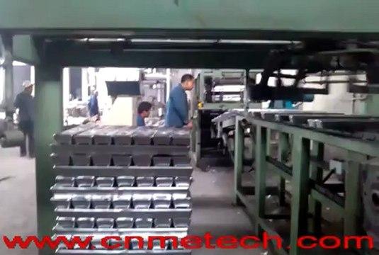 aluminum or alloy ingot(ingots) casting and stacking line
