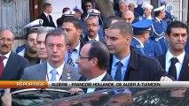 Algérie: François Hollande, de Alger à Tlemcen