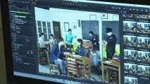 Jang Nara 学校2013 温かいポスタ~撮影現場 先生部分