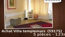 Vente - maison/villa - templemars  (59175)  - 123m²