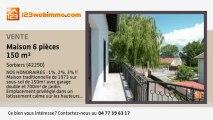 A vendre - maison - Sorbiers (42290) - 6 pièces - 150m²