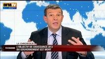 Chronique éco de Nicolas Doze : l'objectif de croissance 2013 du gouvernement est mort