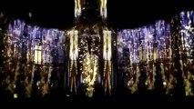 Une envie de lumières ( extrait ) son et lumière à l'Hôtel de Ville de Rennes pour les fêtes de fin d'année 2012
