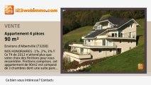 A vendre - appartement - Environs d'Albertville (73200) - 4