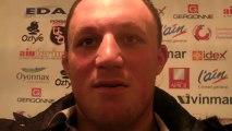Rugby Pro D2 - Marc Clerc réagit après USO - La Rochelle