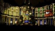 Une envie de lumières  son et lumière à l'Hôtel de Ville de Rennes pour les fêtes de fin d'année 2012