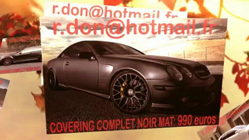 Mercedes CL, Mercedes CL, essai video Mercedes CL, covering Mercedes CL, Mercedes CL peinture noir mat
