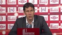 Conférence de presse LOSC Lille - Montpellier Hérault SC : Rudi GARCIA (LOSC) - René GIRARD (MHSC) - saison 2012/2013