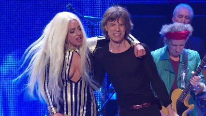 The Rolling Stones And Lady Gaga - Gimme Shelter (Live) (HD)