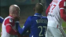 But Anthony MODESTE (13ème) - SC Bastia - AS Nancy-Lorraine (4-2) - saison 2012/2013