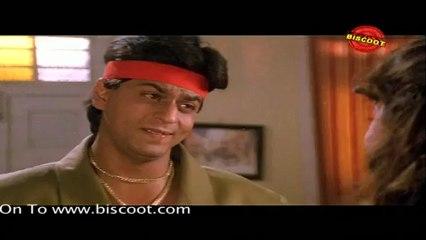 Ram Jane: (Dramatic Scene) Shahrukh Khan, Juhi Chawla, Vivek Mushran 05