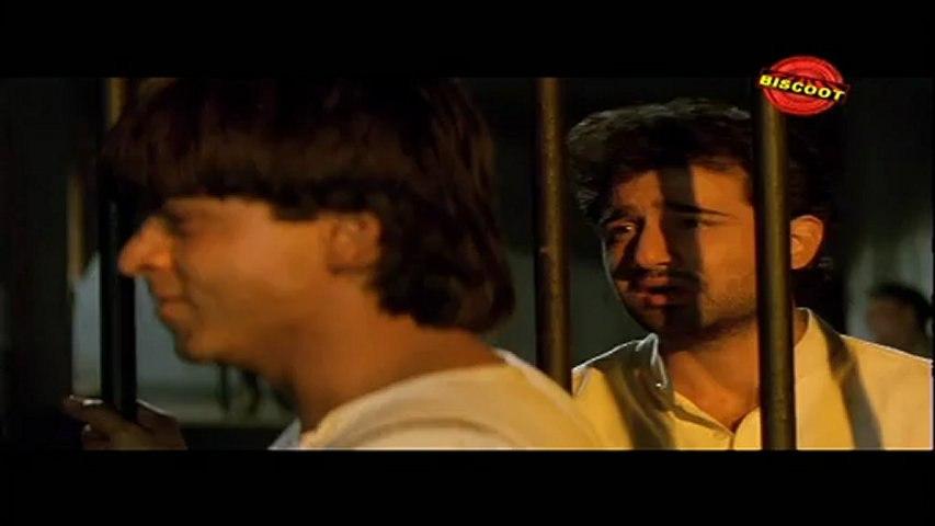 Ram Jane: (Dramatic Scene) Shahrukh Khan, Vivek Mushran, Punit Issar 25