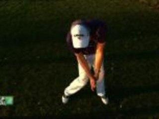 Beim Golfschwung zählt die richtige Körperhaltung