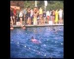 Années 60 - Compétition de natation à la piscine de Salindres