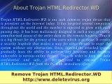Trojan HTML Redirector WD - Remove Trojan HTML Redirector WD