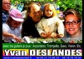 """Yvan DESLANDES chante """"Le petit café du grand amour """""""