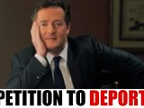 Thousands Sign Petition to Have Piers Morgan Deported