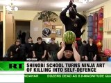 Ninjas conquer Russia: Ancient art of Japan revived