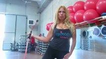 Monya fitness Giwa metodo Pilates di educazione posturale con il Butterfly sul tappeto elastico