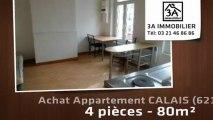 A vendre - appartement - CALAIS (62100) - 4 pièces - 80m²