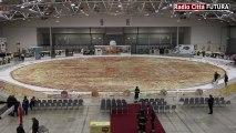 La pizza la plus grande du monde