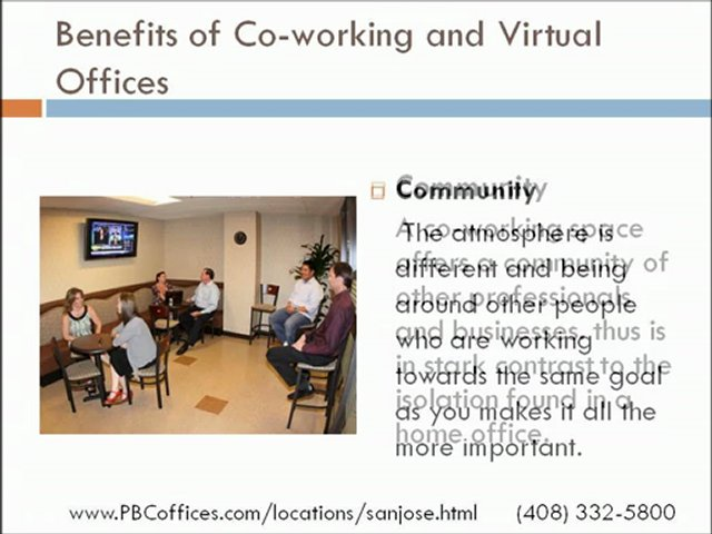 Executive suites in San Jose and Virtual Offices