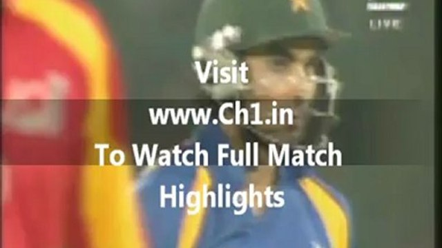 India Vs Pakistan 1st T20 Full Highlights 25 December 2012 | Live Brodcasting IND vs PAK 1st T20 2012