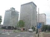 Rotterdam, Pays-Bas : gratte ciel du centre ville