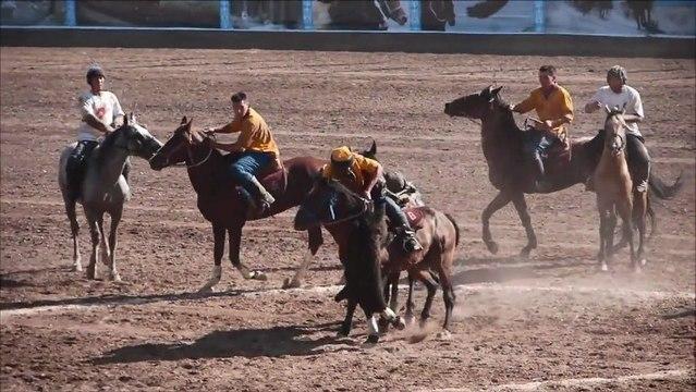 Match de bouzkachi à Bichkek